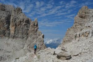 Sentiero Benini, Dolomites 71