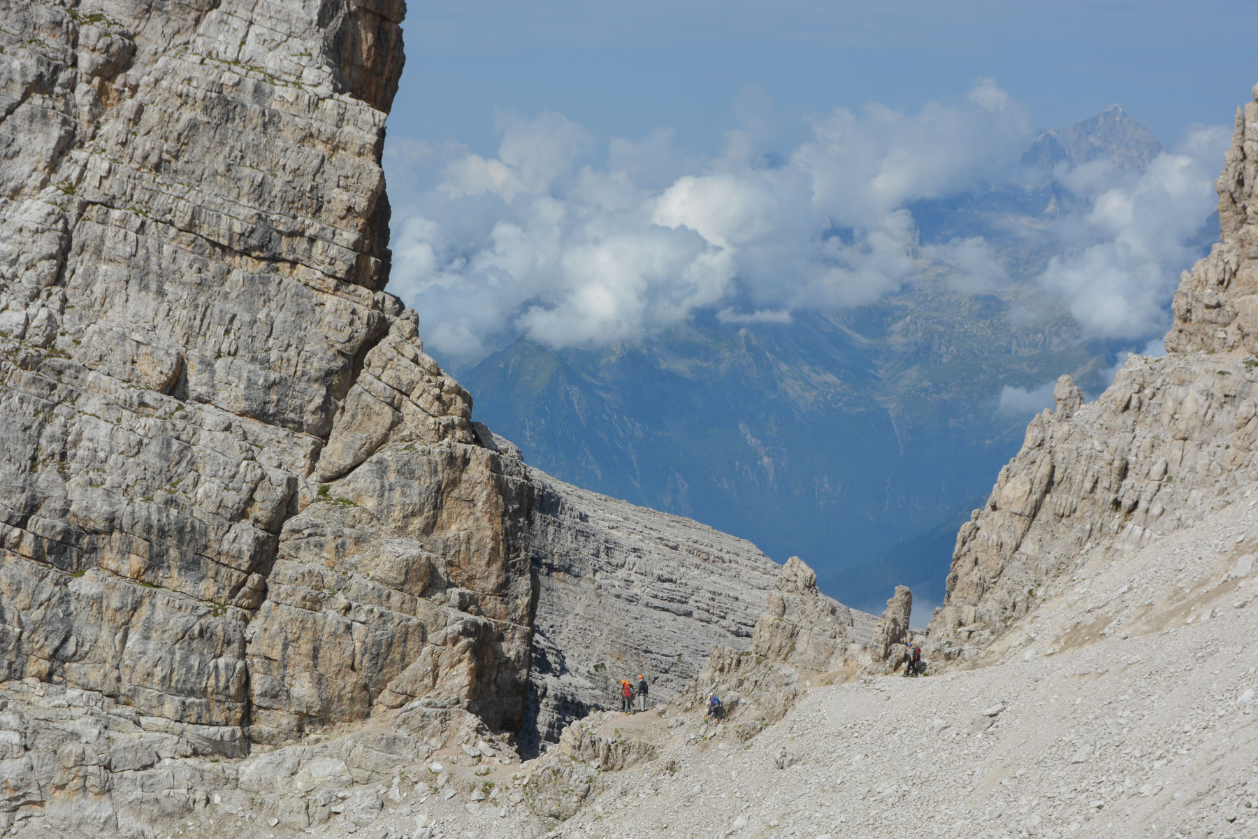 Sentiero Benini, Dolomites 21
