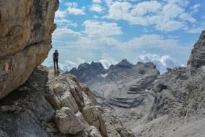 Sentiero Benini, Dolomites 73