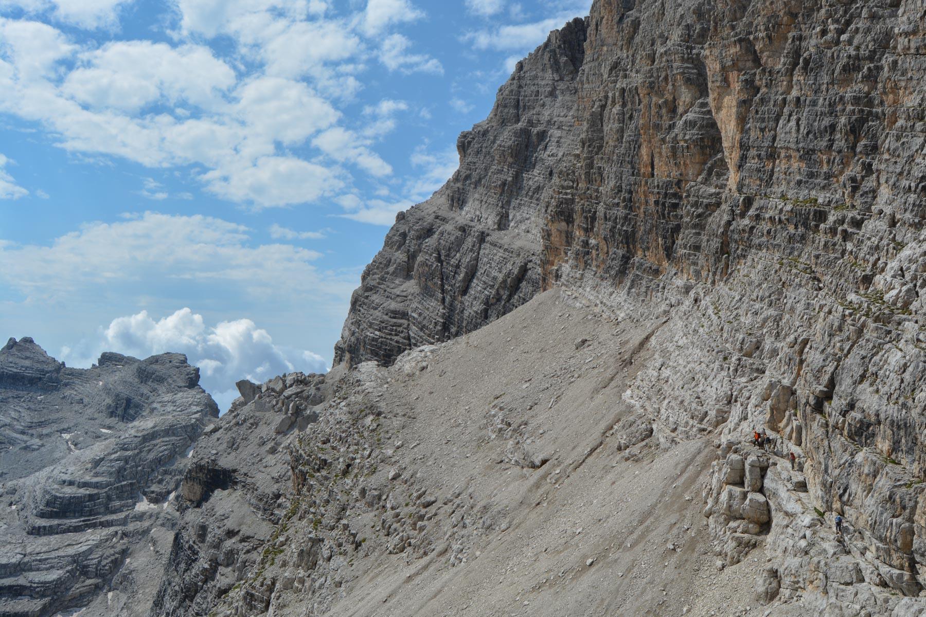 Sentiero Benini, Dolomites 23