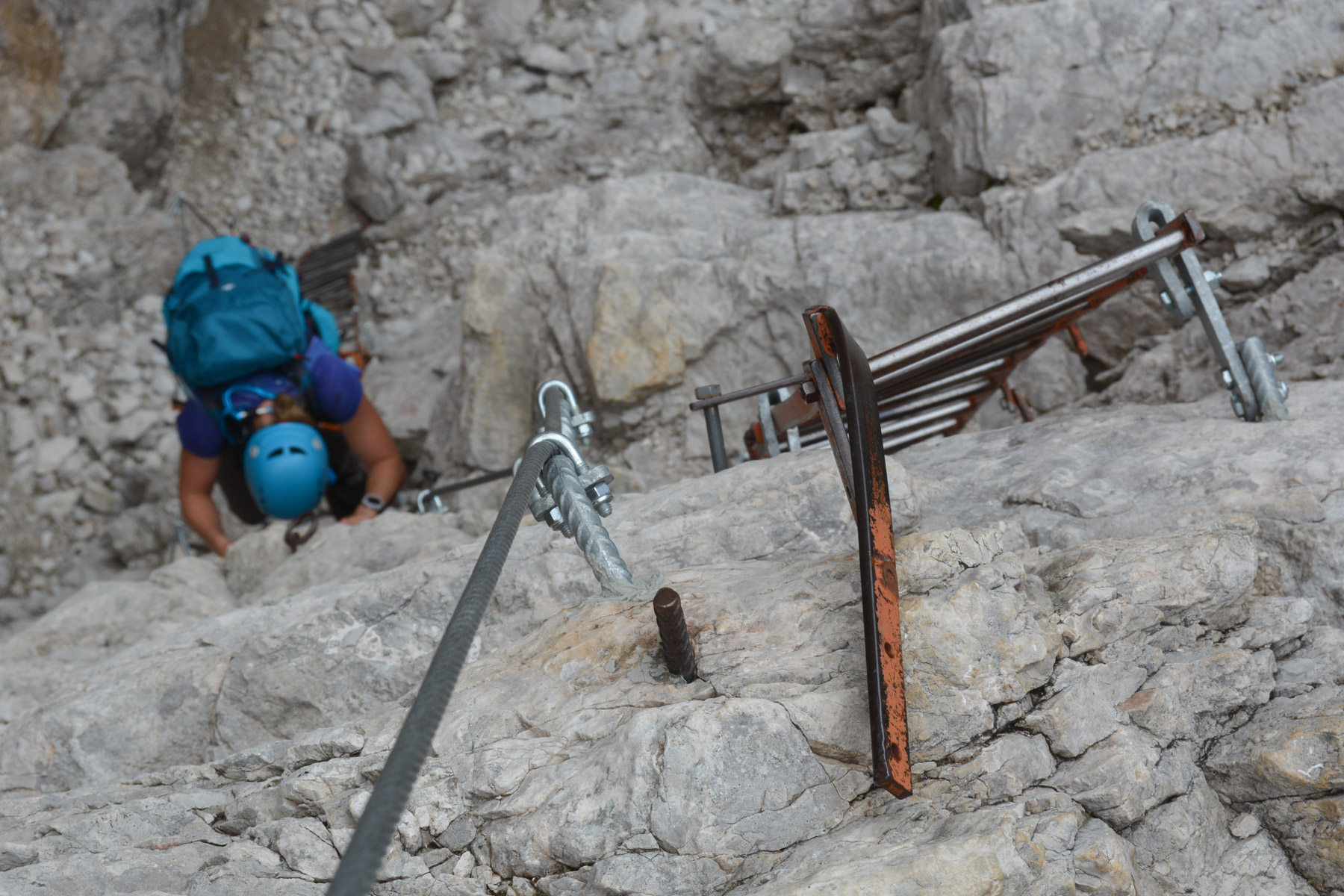 Sentiero Benini, Dolomites 41