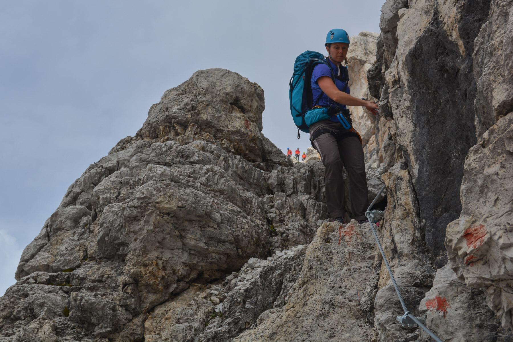 Sentiero Benini, Dolomites 43