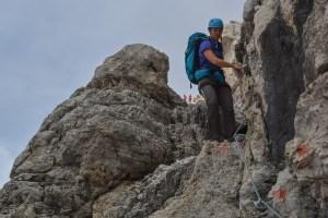 Sentiero Benini, Dolomites 94
