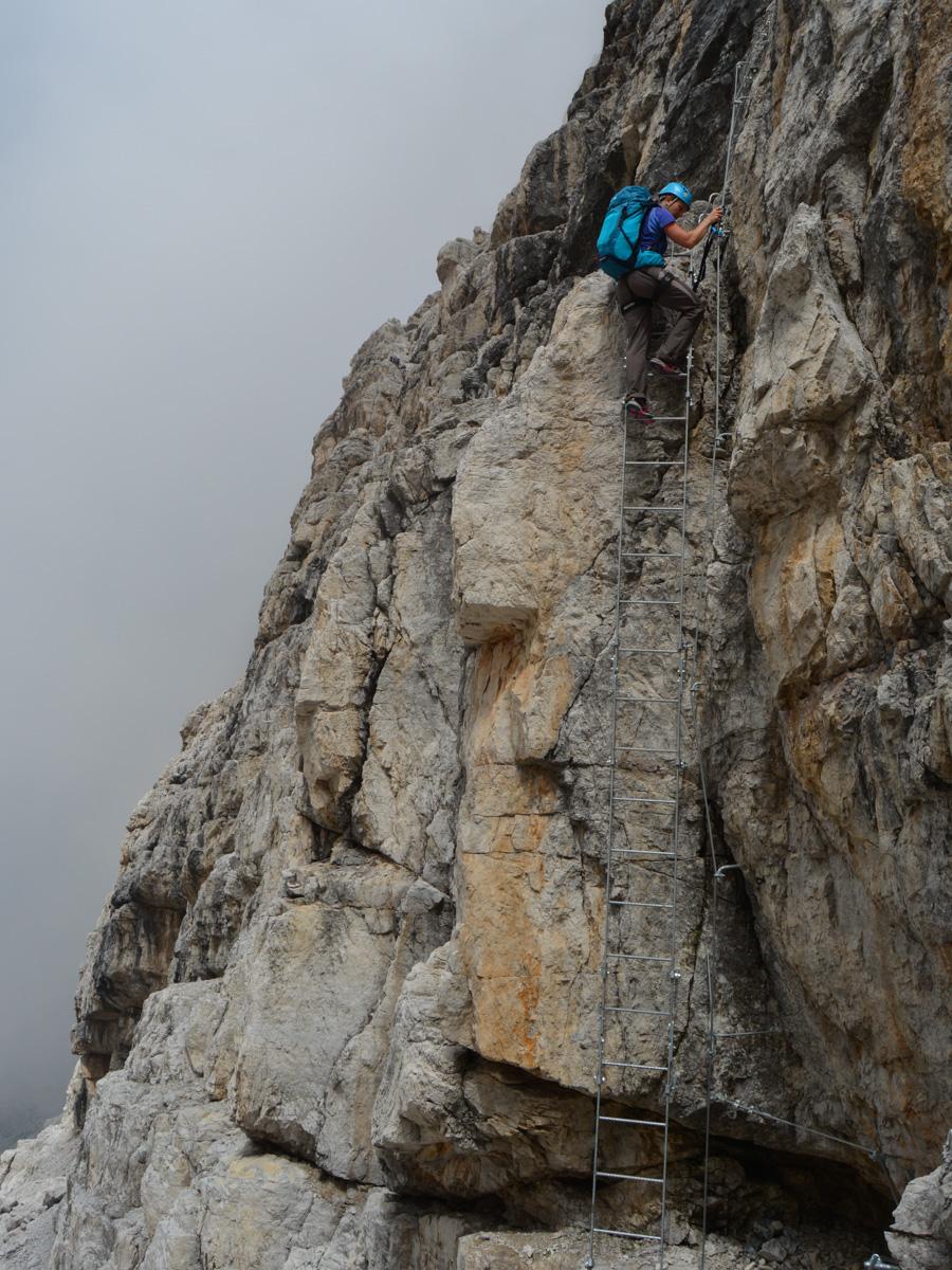 Sentiero Benini, Dolomites 46