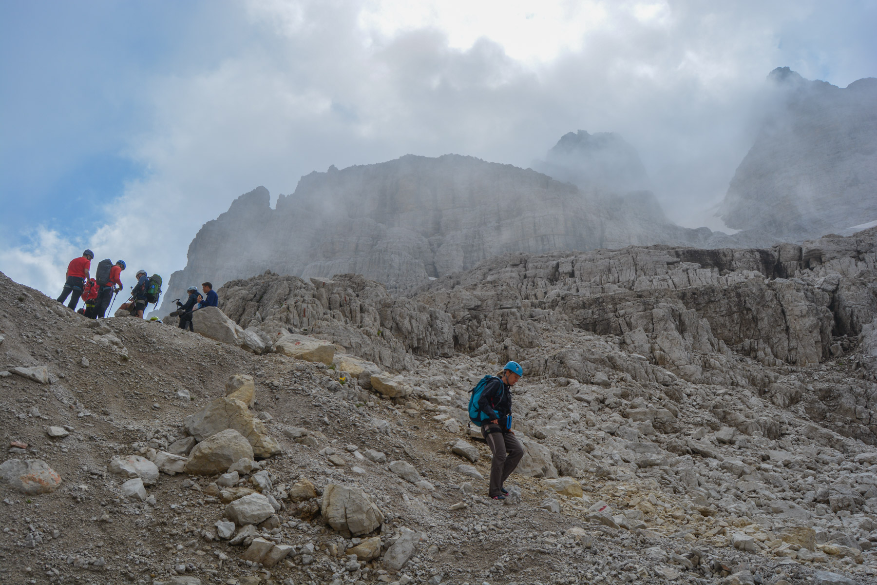 Sentiero Benini, Dolomites 48