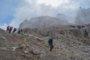 Sentiero Benini, Dolomites 99