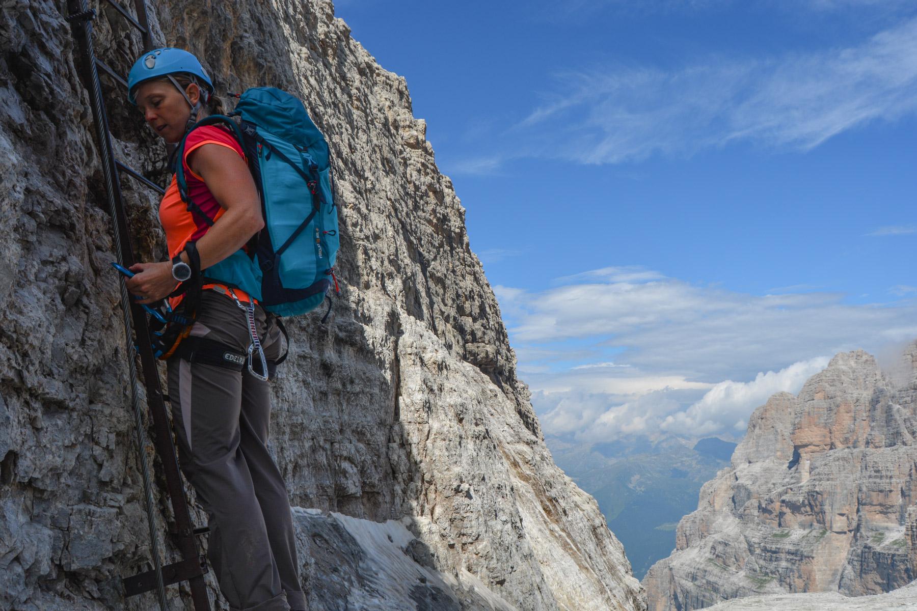 Via delle Bocchette Centrali, Dolomites 25