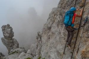 Via delle Bocchette Centrali, Dolomites 36