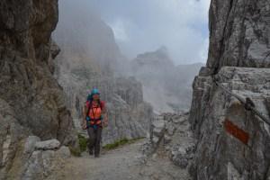 Via delle Bocchette Centrali, Dolomites 28
