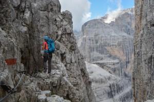 Via delle Bocchette Centrali, Dolomites 48