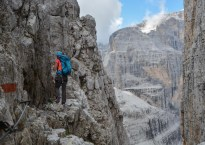 Via delle Bocchette Centrali, Dolomites 9