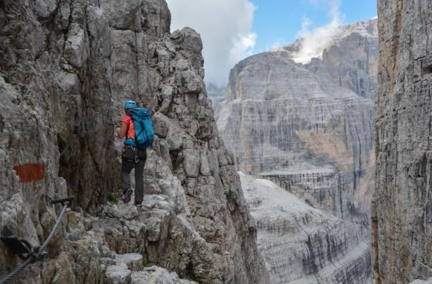Via delle Bocchette Centrali, Dolomites 2