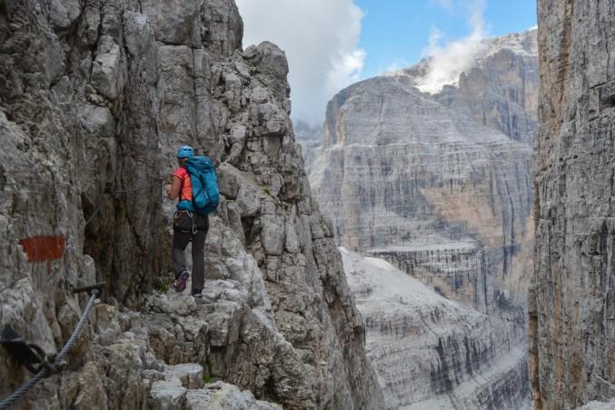 Via delle Bocchette Centrali, Dolomites 3