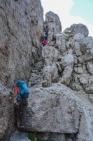 Via delle Bocchette Centrali, Dolomites 50