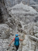 Via delle Bocchette Centrali, Dolomites 21