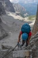 Via delle Bocchette Centrali, Dolomites 55