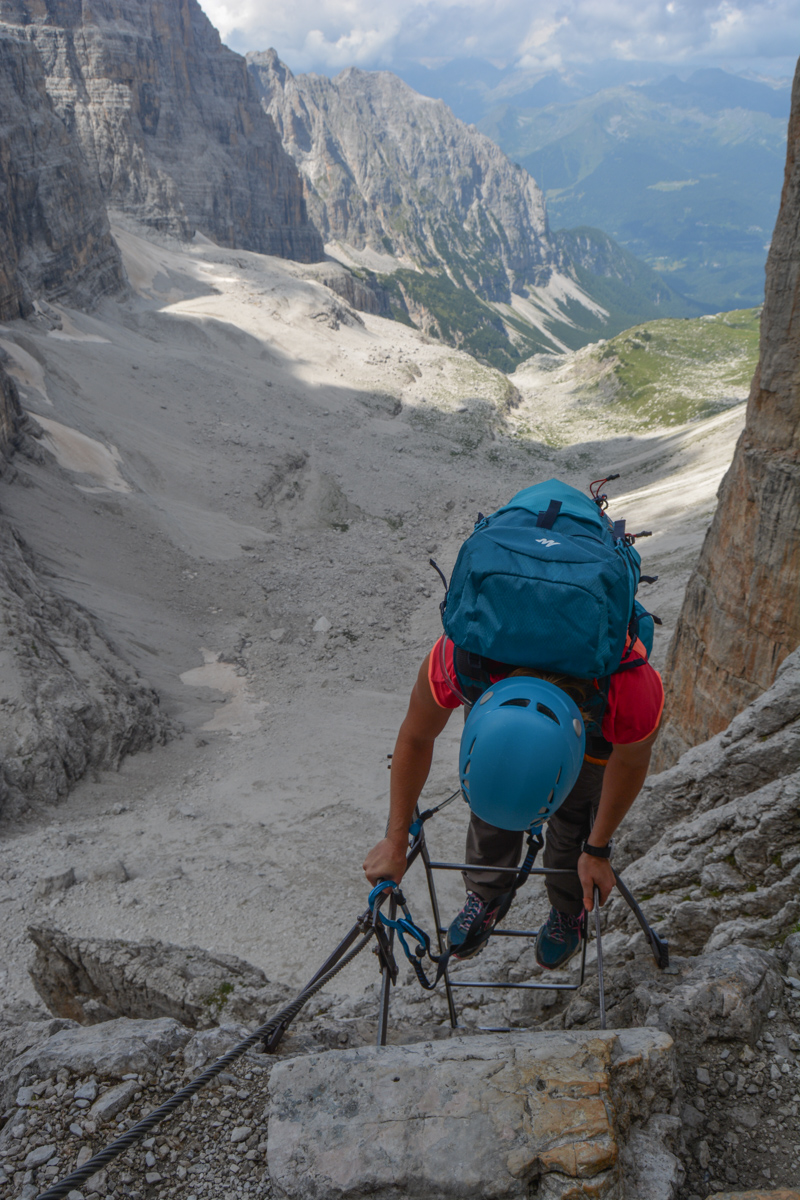 Via delle Bocchette Centrali, Dolomites 53