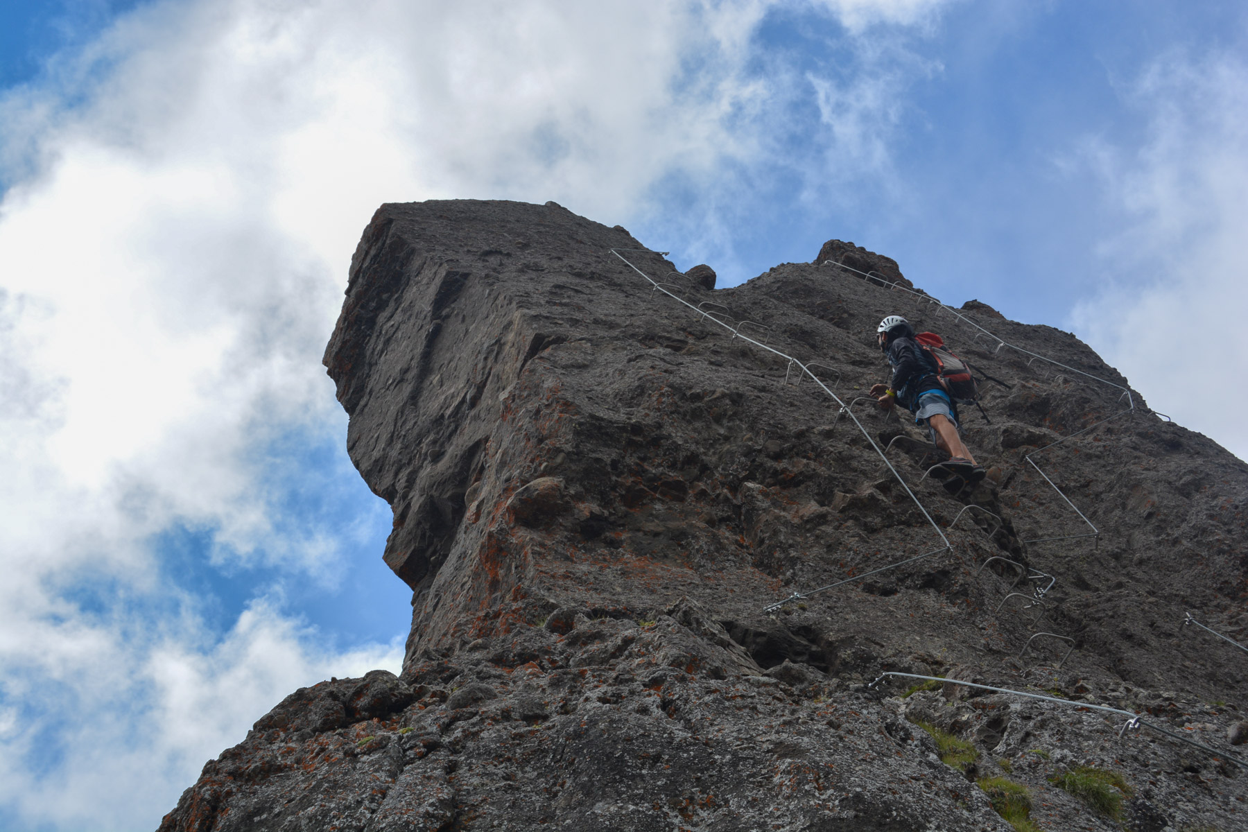 Via ferrata delle Trincee, Dolomites 25