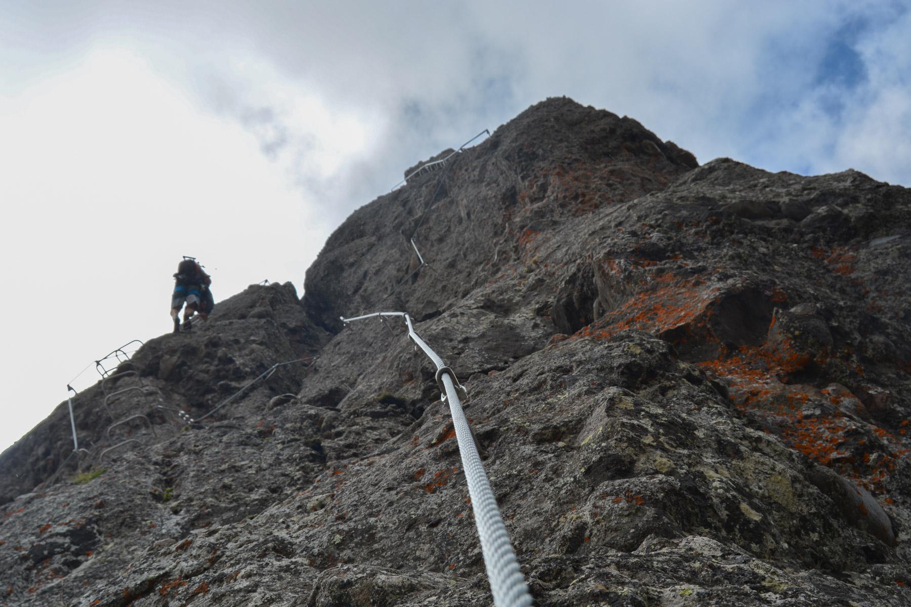 Via ferrata delle Trincee, Dolomites 26