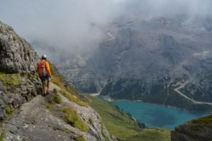 Via ferrata delle Trincee, Dolomites 32