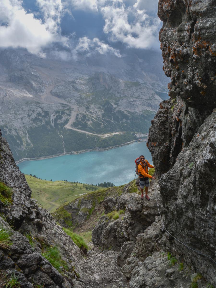 Via ferrata delle Trincee, Dolomites 37