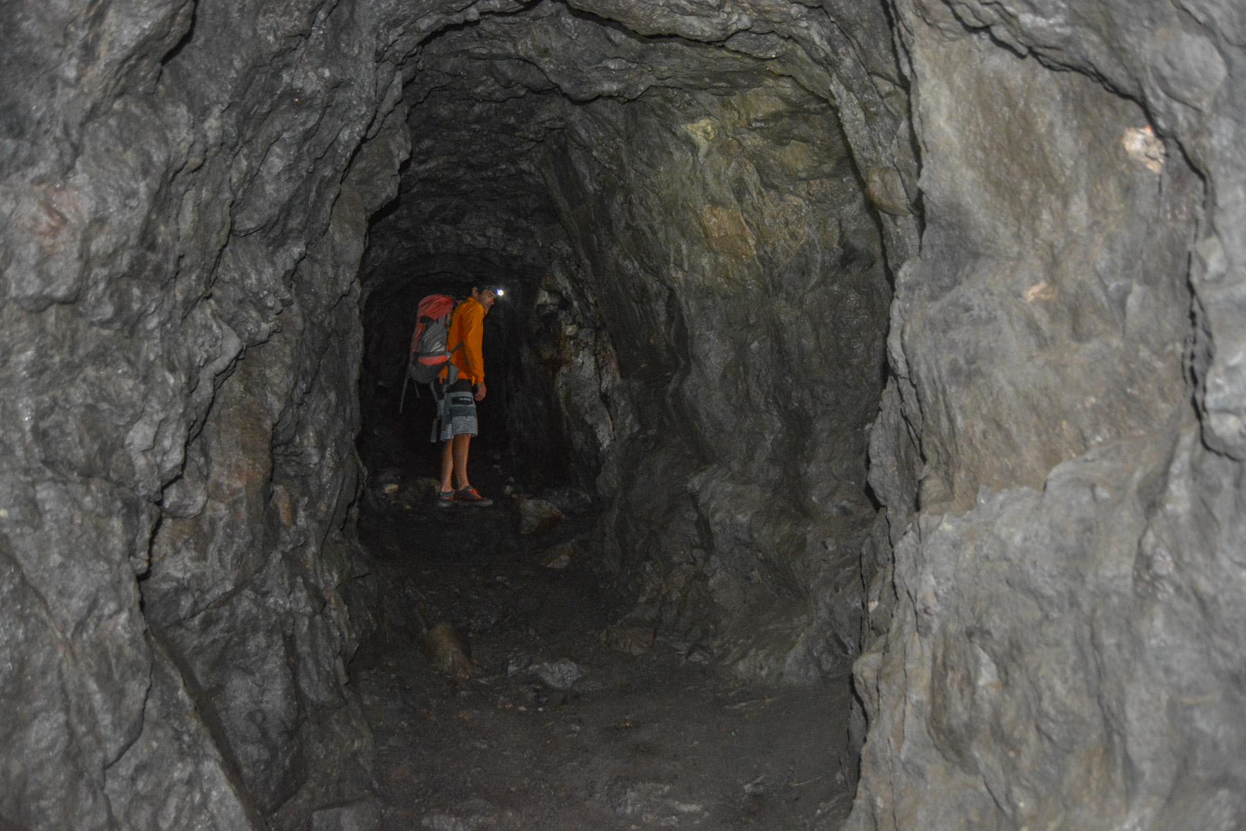 Via ferrata delle Trincee, Dolomites 42