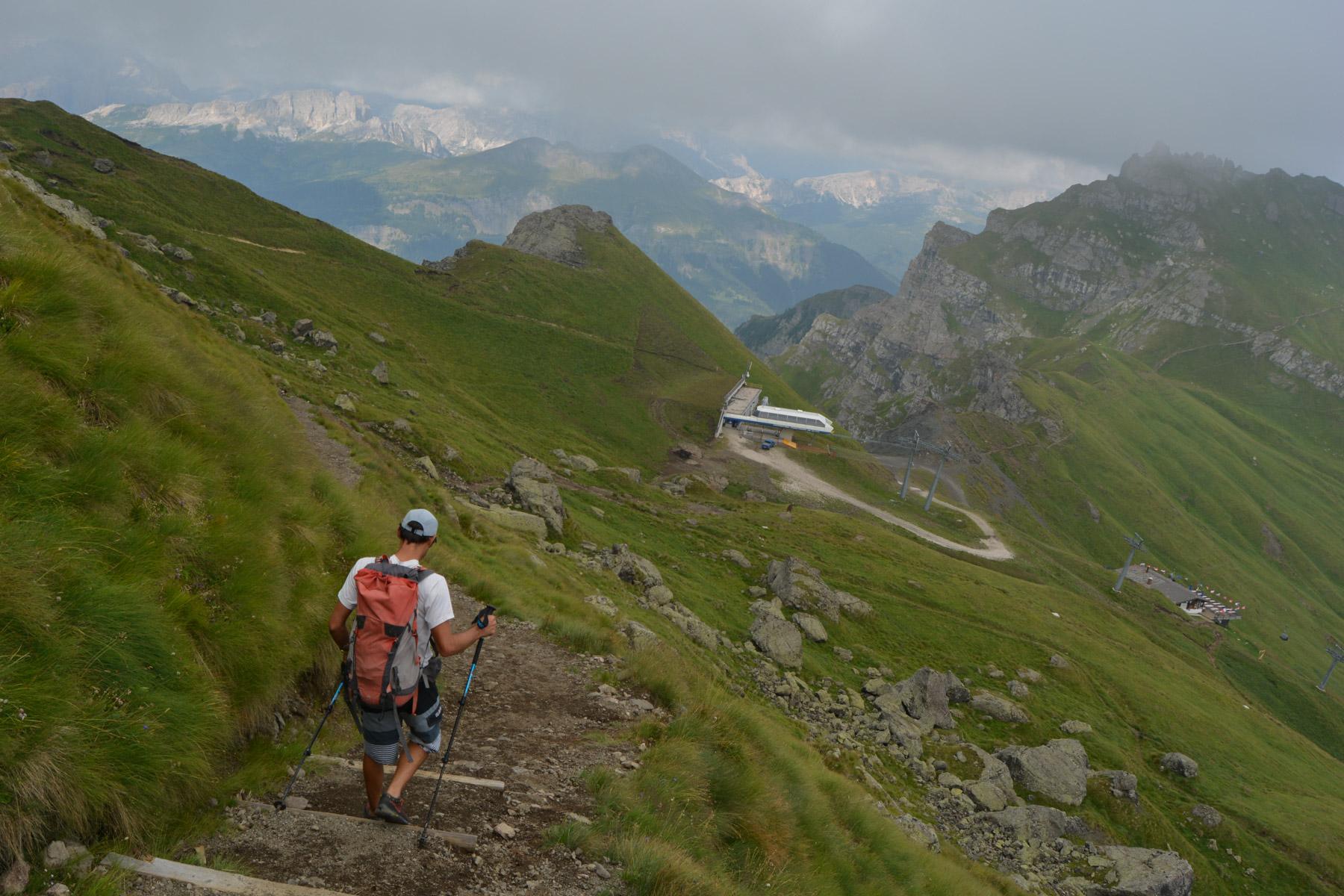Via ferrata delle Trincee, Dolomites 47