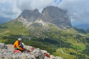 Via Steger, Dolomites 9