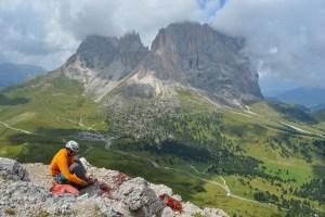 Via Steger, Dolomites 18