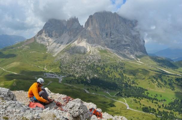 Via Steger, Dolomites 2