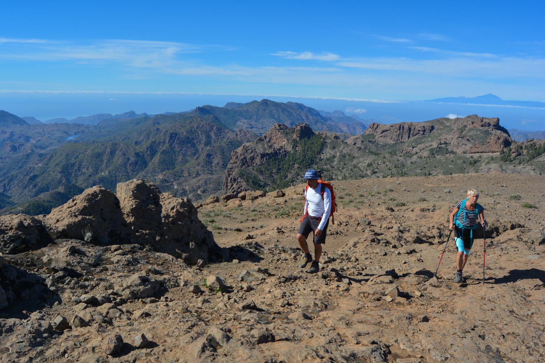 Pico de las Nieves, Gran Canaria, Espagne 1