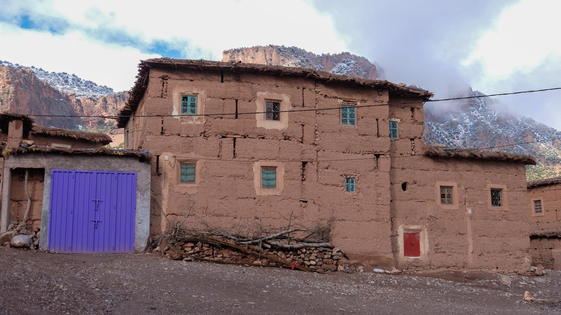 Jebel M'Goun, Ait Bouguemez, Maroc 6