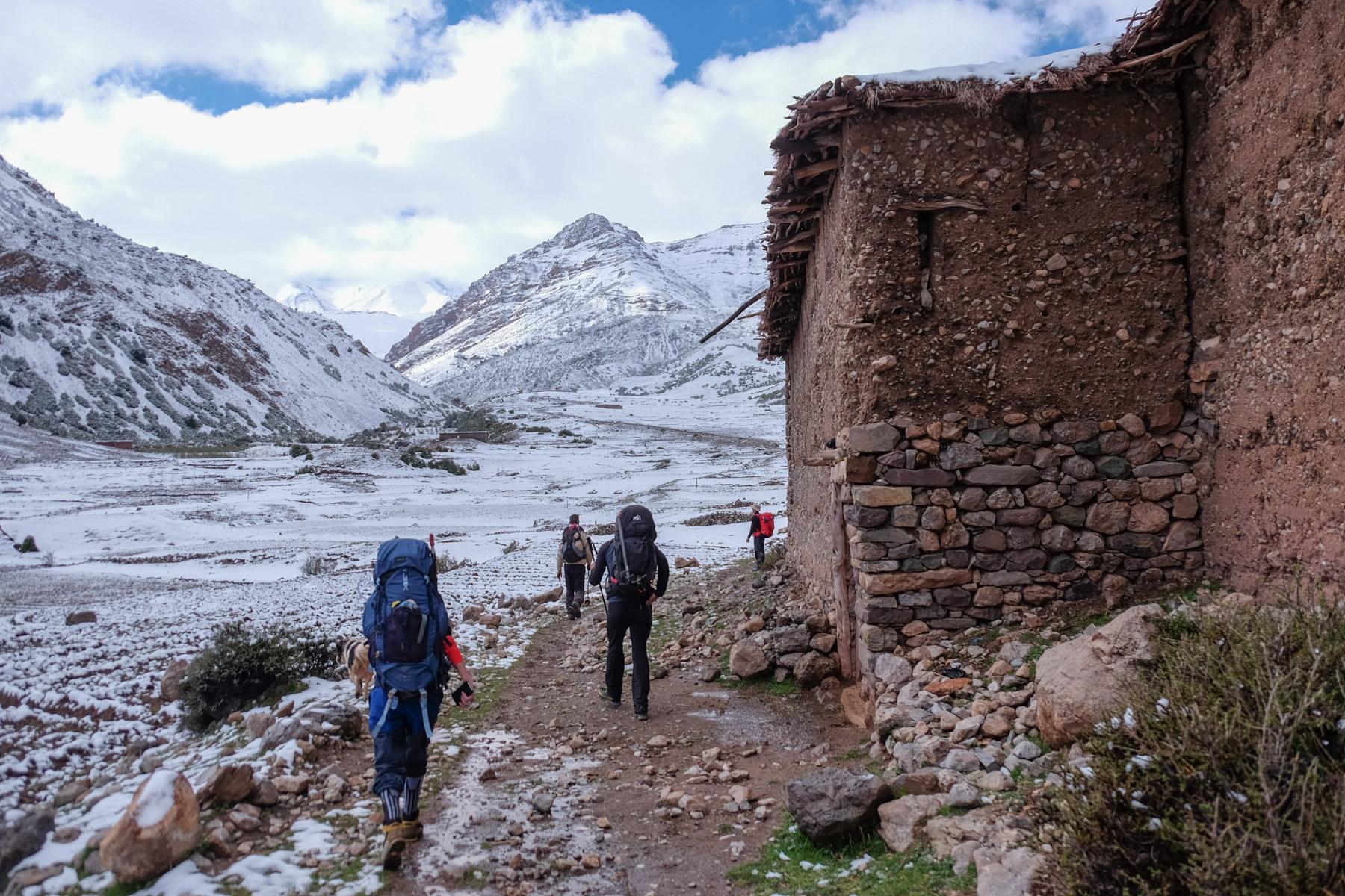 Jebel M'Goun, Ait Bouguemez, Maroc 11