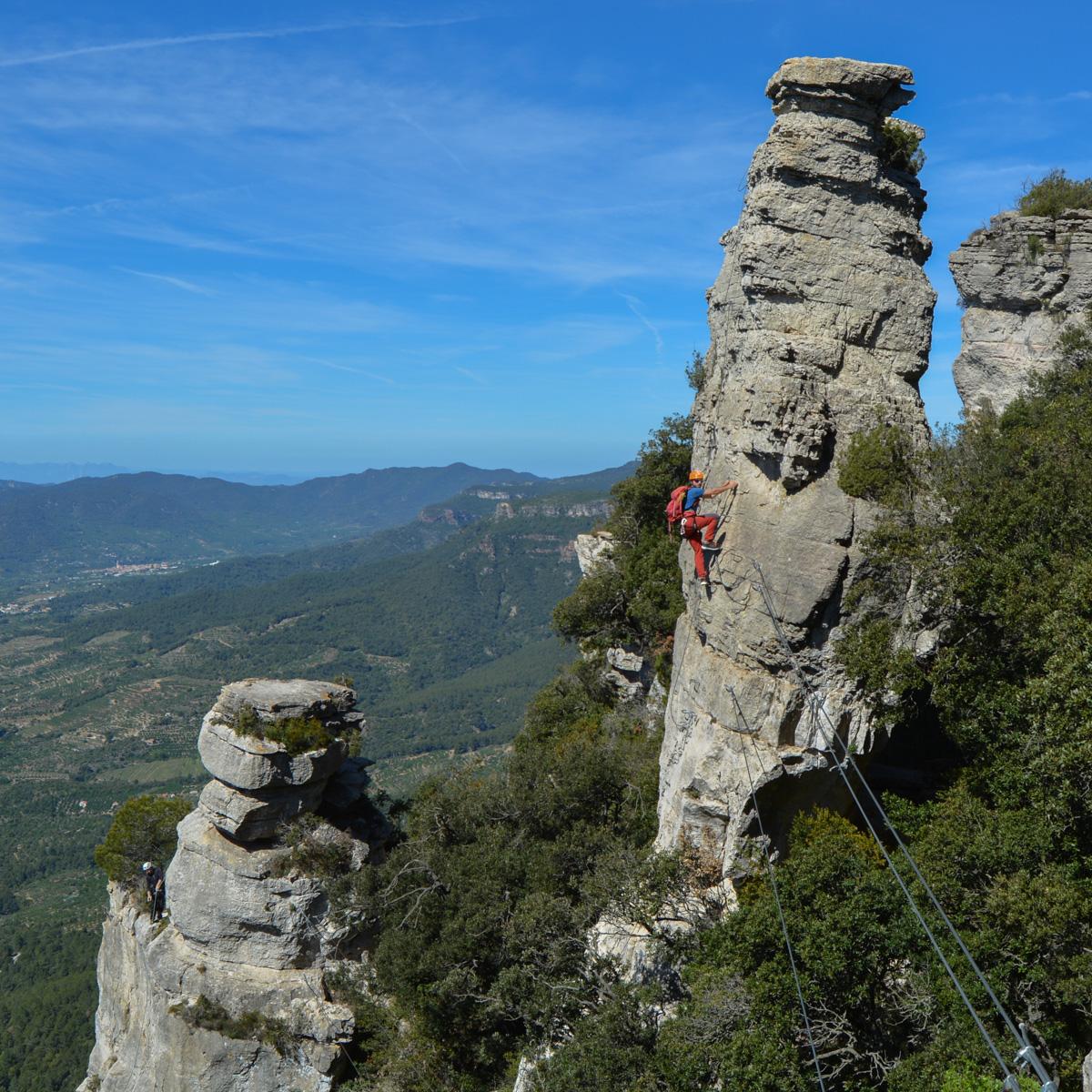 Ferrata dels Patacons, Catalunya 24