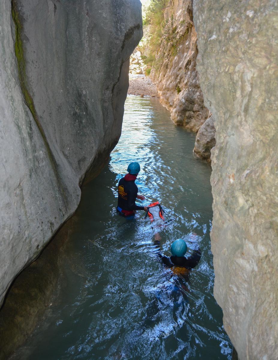 Barranco del Formiga, Sierra de Guara 29
