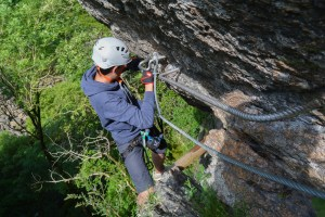 Via ferrata Malamort, Tarn 23