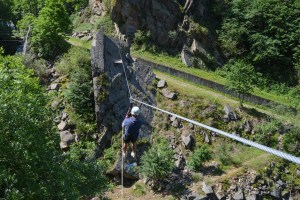 Via ferrata Malamort, Tarn 26