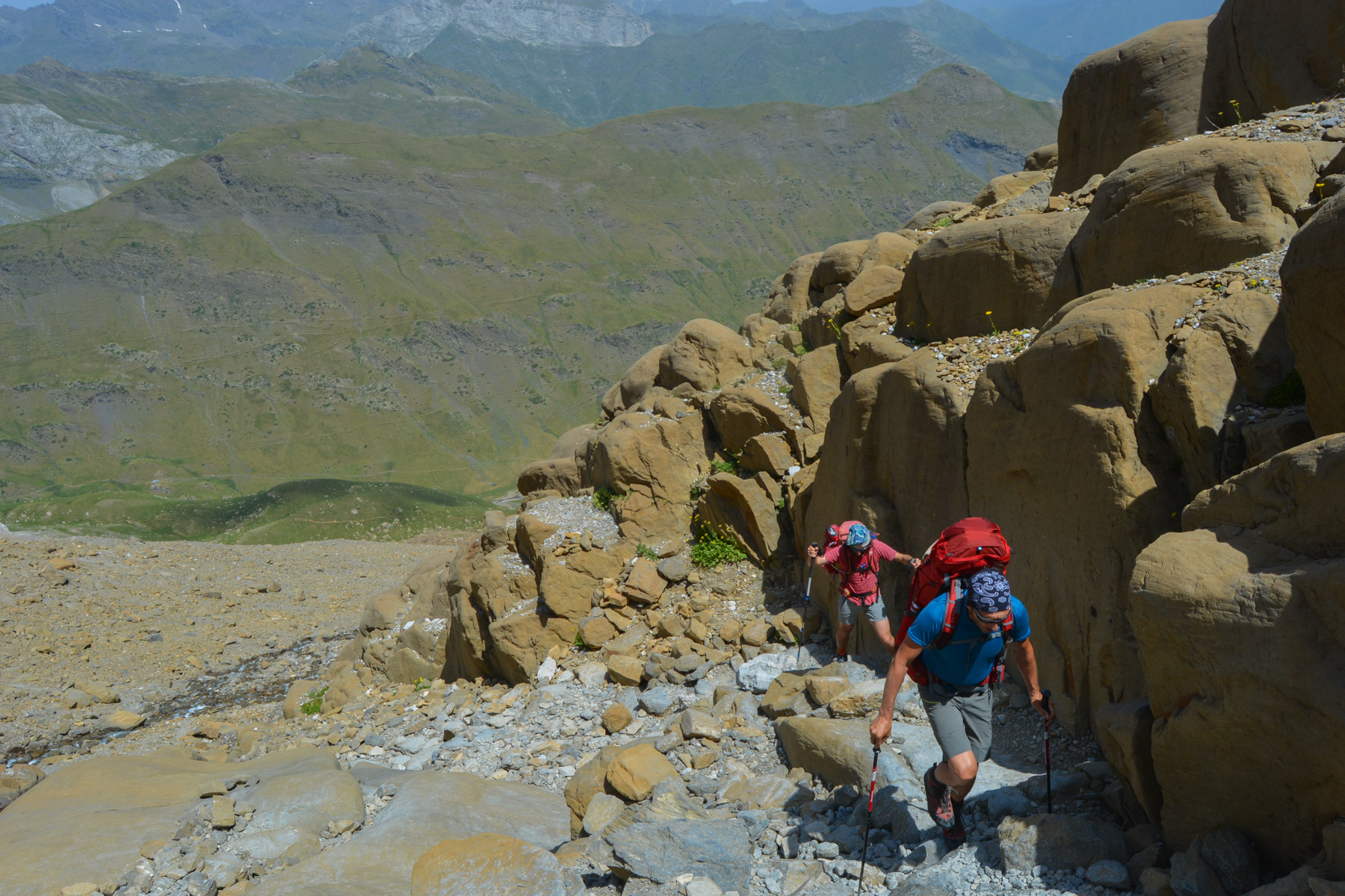 Monte Perdido et Faja de las Flores, Jour 1, Ordesa, Aragon, Espagne 11