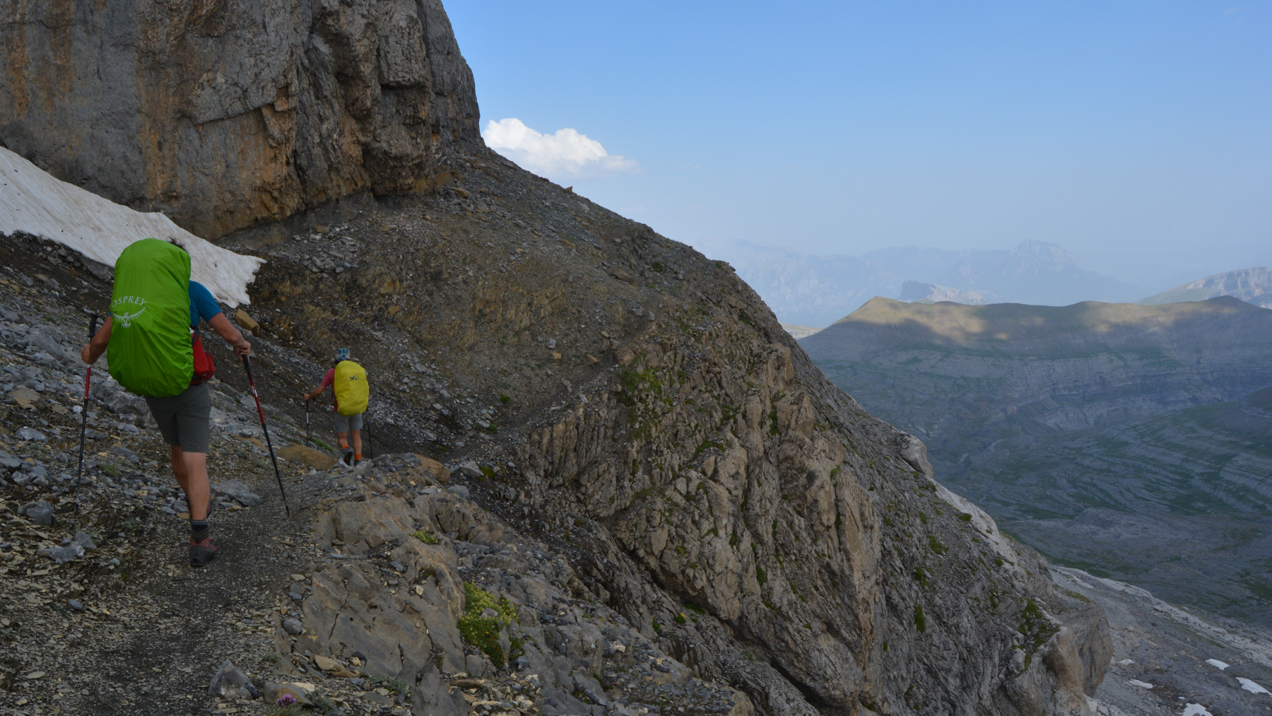 Monte Perdido et Faja de las Flores, Jour 1, Ordesa, Aragon, Espagne 33