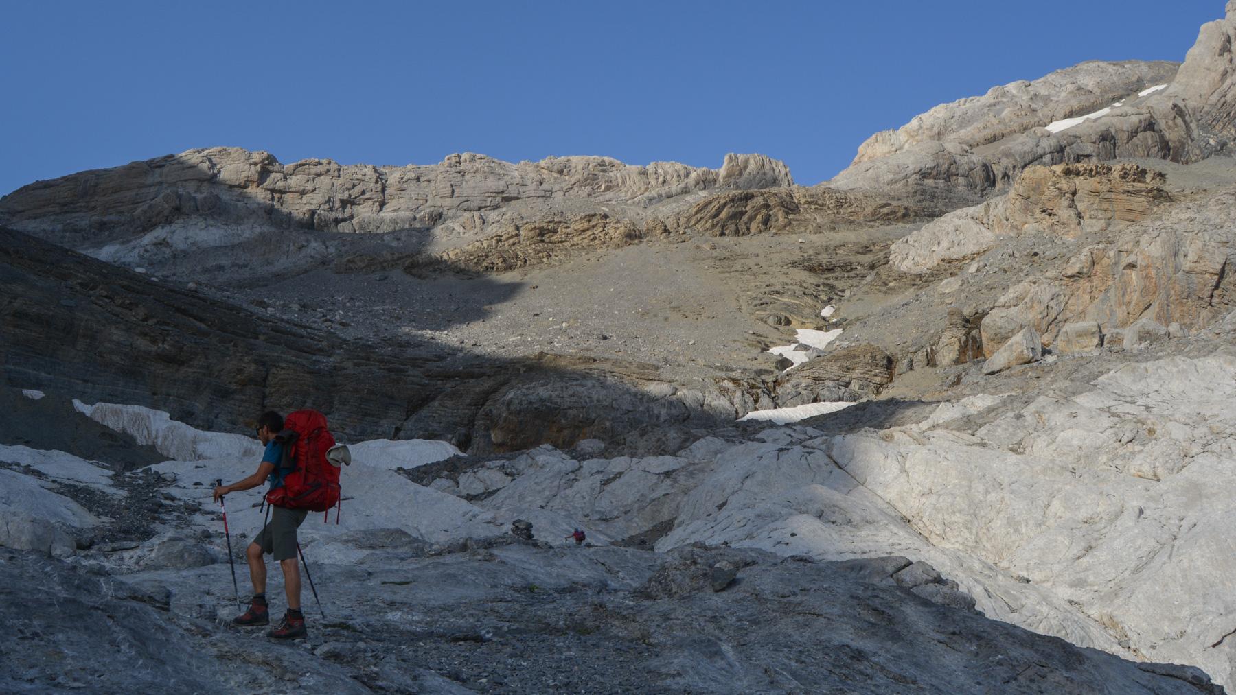 Monte Perdido et Faja de las Flores, Jour 1, Ordesa, Aragon, Espagne 42