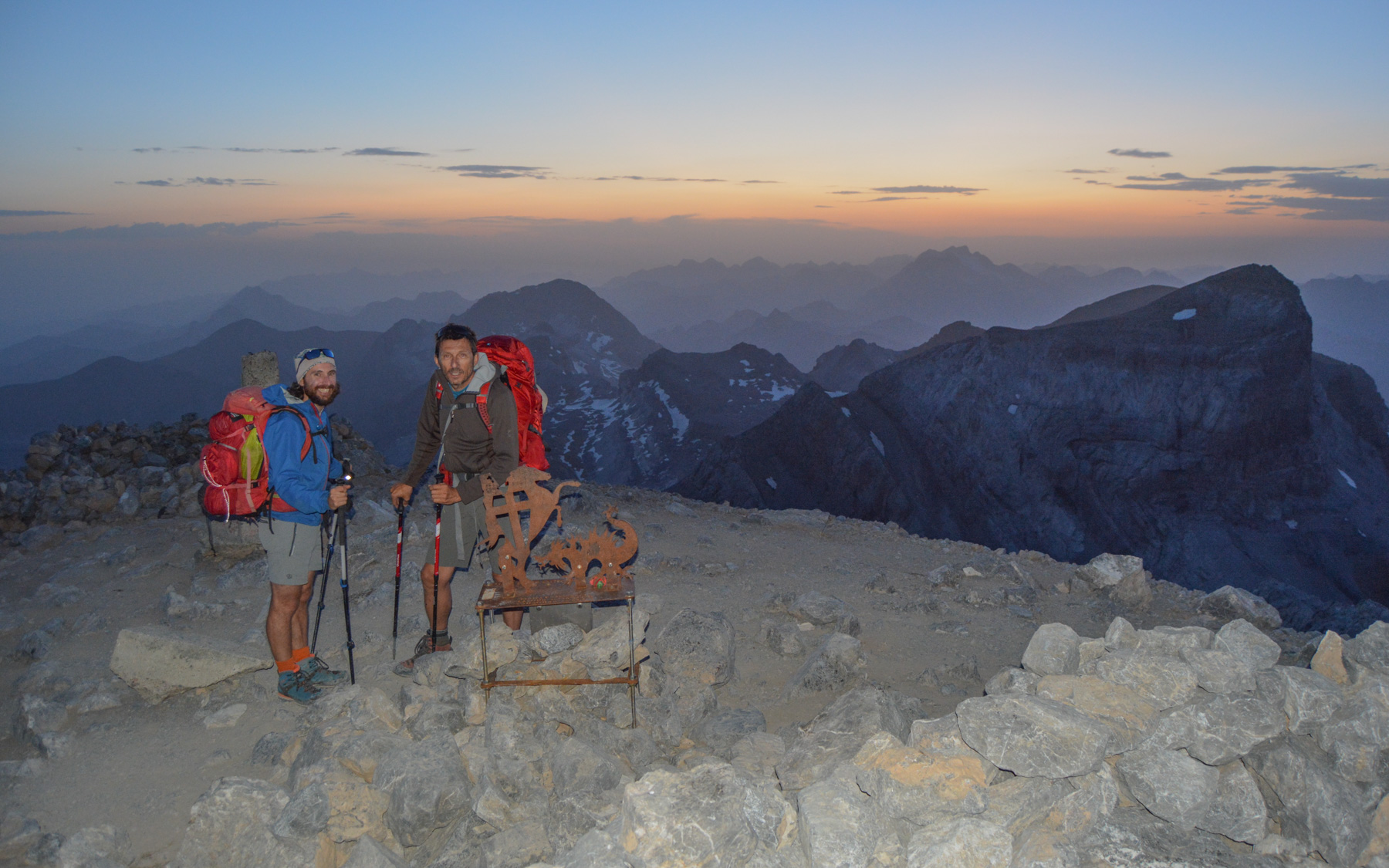 Monte Perdido et Faja de las Flores, Jour 1, Ordesa, Aragon, Espagne 51