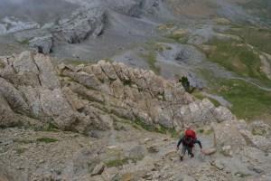 Forquete de Gabietou, Monte Perdido J3, Aragon 30