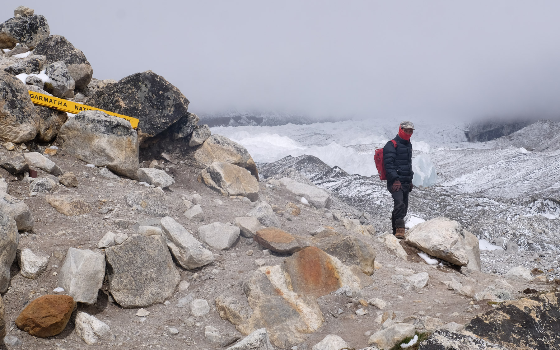 Everest Base Camp, Everest 3 pass #2 29