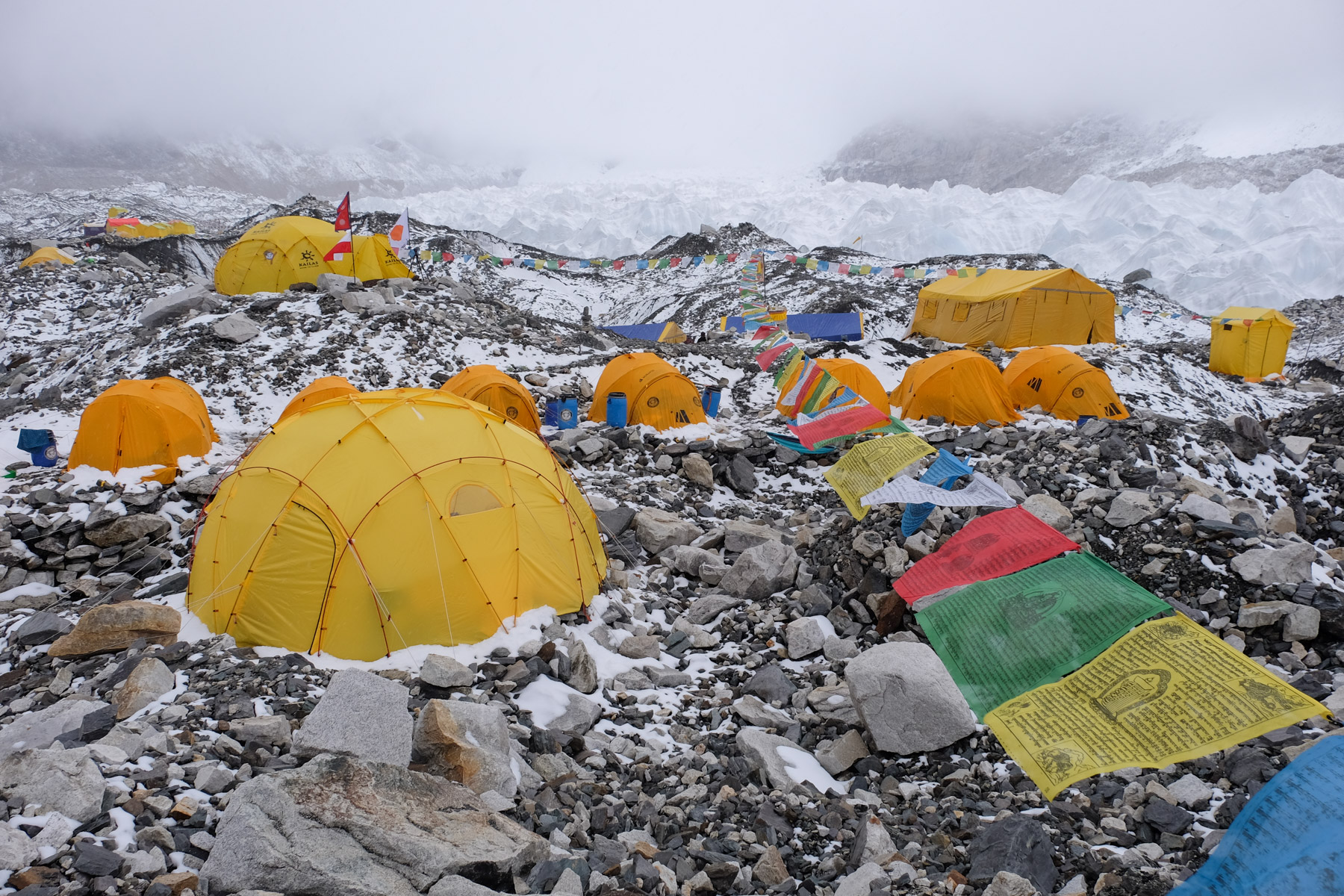 Everest Base Camp, Everest 3 pass #2 36