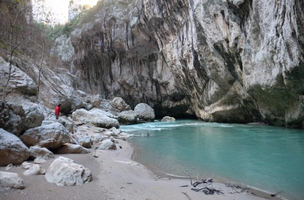 Sentier de l'Imbut, Gorges du Verdon 2