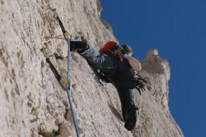 Aiguille du Sugiton, face Sud,  Calanques de Marseille 9