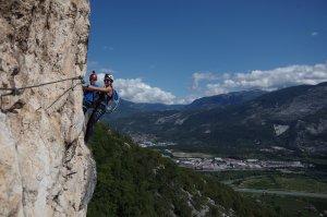 Via ferrata Monte Albano - Obóz wspinaczkowy w Arco