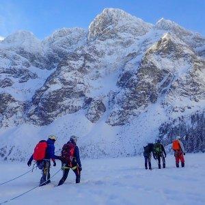 Kurs zimowej turystyki wysokogórskiej, wycieczka wysokogórska