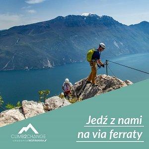 Zarezerwuj wyjazd na via ferraty w Akademii Wspinania climb2change