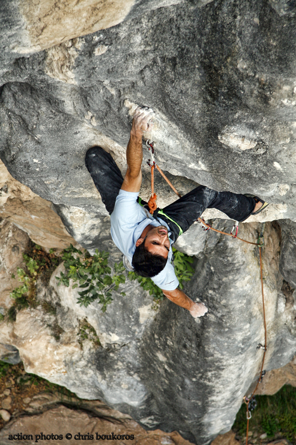 Sport Climbing at Pili's Little Gorge - Trikala - Best summer destination in Central Greece (3/6)